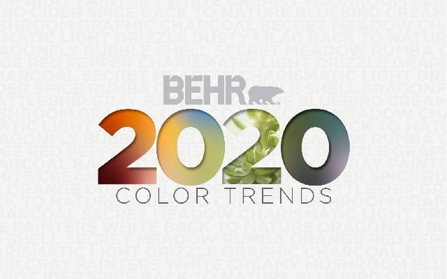 Pinta smart con los nuevos colores y tecnología BEHR 2020